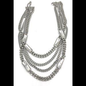 Zirconia necklace (b23)